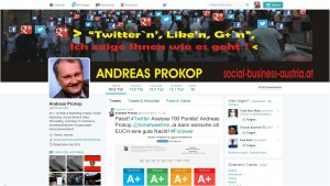 Twitter Account´s in Österreich. @tometweetme ANDREAS PROKOP