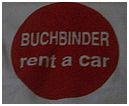 Buchbinder tent a car